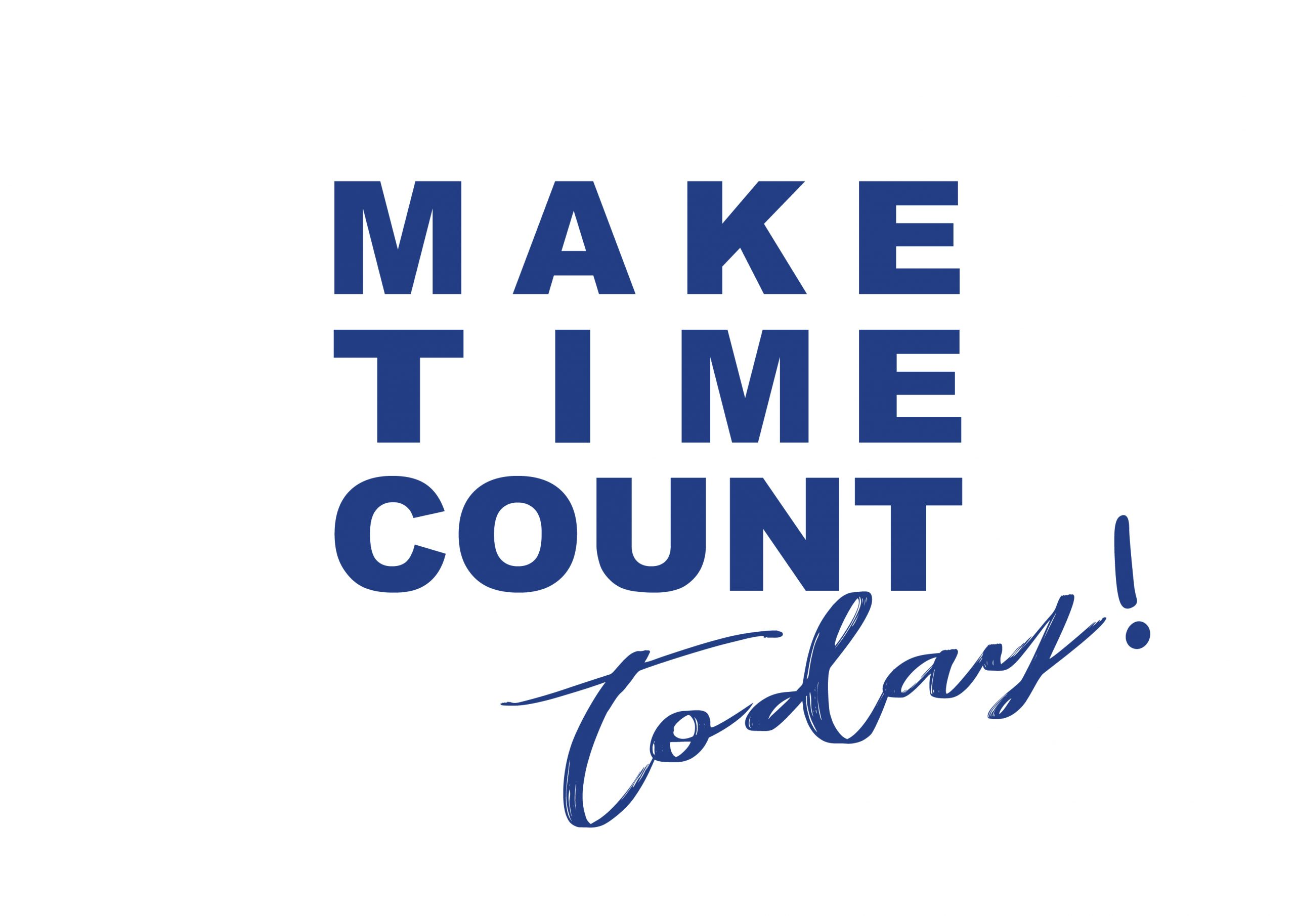 Make Time Count